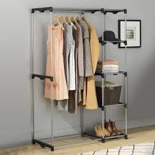brass clothing rack 60 new clothes armoire with hanging rod inspiration 1142