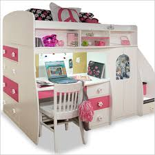 bunk bed with slide and desk. Stairs And Slide White Bunk Bed Desk  Bunk Bed With Slide And Desk