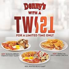 denny s puts a sweet and y twist on diner favorites