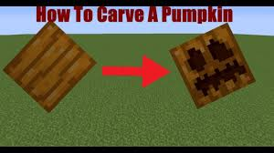 How To Carve A Pumpkin In Minecraft Snapshot 17w48a
