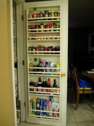 Kitchen Pantry Door Organizer Kitchen Pantry Door Storage Home Design Ideas