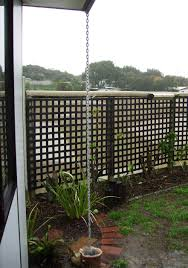 chain downspout. Interior:Agreeable Simple Chain Downpipe Also Fills Up The Dogs Water House Downspout Downspouts Home