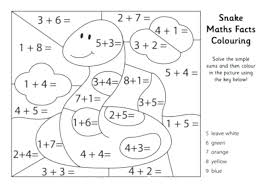 Math Coloring Multiplication Mystery Picture Worksheet 1st Grade ...