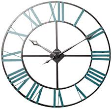 battery operated wall clock umbra concrete piatto wall clock grey kitchen home
