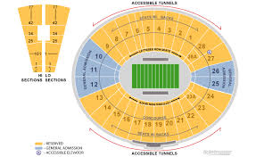 Rose Bowl Seating Chart Ucla Football Rows Online Charts Collection