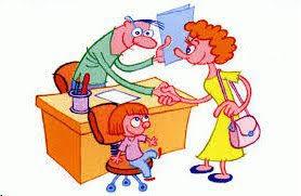 Resultado de imagen de reunion padres y profes