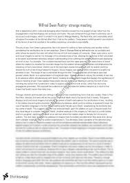 wilfred owen essay year hsc english standard thinkswap wilfred owen essay