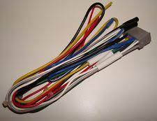 alpine universal car audio video wire harnesses alpine am fm cd stereo wire harness cde 100 cde100 power speaker wiring plug