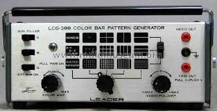 Pattern Generator New Color Bar Pattern Generator LCG48 Equipment Leader Electro