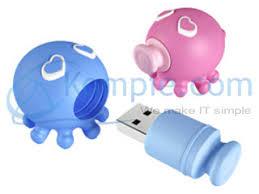 USB Flash Disk A Data Octopus T806 4 GB