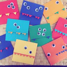 Diy Kids Birthday Card Birthday Card Kid Birthdaycard Monsters 6years Happy