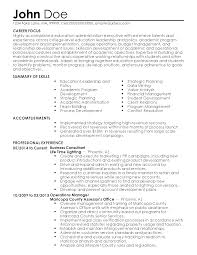 Professional Education Administration Executive Templates To