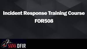 Advanced Incident Response Training Threat Hunting