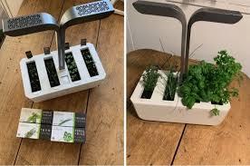 a connected vegetable garden to grow