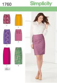 Simplicity Skirt Patterns Stunning Simplicity 48 Misses' Skirts