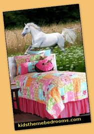 horse theme bedroom decorating ideas