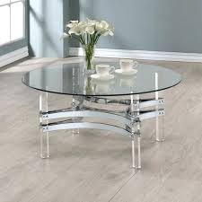 lovely clear coffee table layout design minimalist