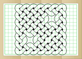 patterns to draw on graph paper how to draw a celtic knot on squared paper with pictures