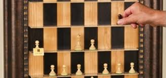 How To Make Wooden Games How to Make a Vertical WallMounted Chessboard Board Games 30
