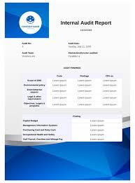 Internal Audit Report Template Pdf Templates Jotform
