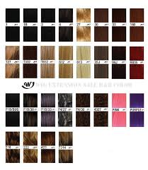 Bohyme Color Chart R B Silk Lace Wig Xr Bohyme