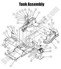 Wiring diagram 700 e30 bad boy mower parts 2016 mz magnum fuel tank assembly diagram