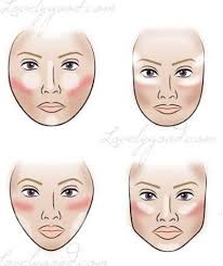 where to highlight where to highlight contour blush according to face shape make up