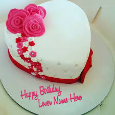 Eggless Cakes Birthday Cake Girlfriend With Name Manufacturer From