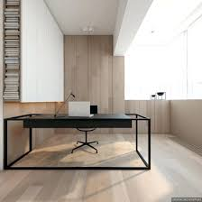 the office super desk. 2 Super Simple Homes With Light Wood Panels And Matte Black Accents The Office Jims Mega Desk I