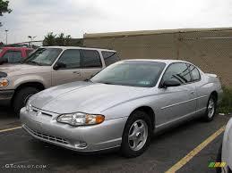 2001 Galaxy Silver Metallic Chevrolet Monte Carlo LS #14577238 ...