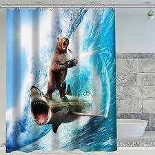 full size of decorating jaws shower curtain magnificent jaws shower curtain 16 h p 235 hot