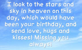 Missing You Birthday in Heaven | You can get your favourite quotes ... via Relatably.com
