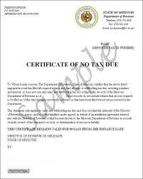 no tax due tutorial