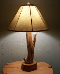cheap rustic wood table lamp ideas with empire shade on natural for living room rustic table lamps i27