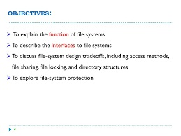 File Sharing System Design Operating Systems Cs 340 D Ppt Download