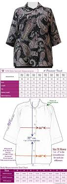 0x Plus Size Chart A Personal Touch Black Bombay 3 4 Sleeve Womens Plus Size