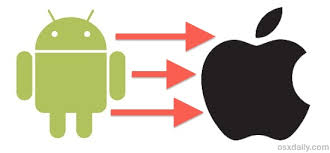 transfer android contacts to iphone