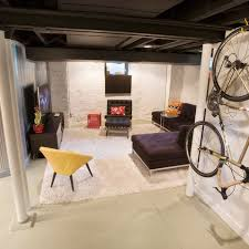 Unfinished Basement Ideas On A Budget Cafemomonh Home Design Inside Modern