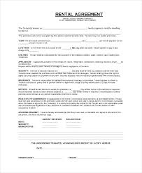 Basic Lease Agreement Simple Lease Agreement Template Business