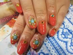 画像 エスニック風にネイルを飾るモロッコネイルがかわいい Naver