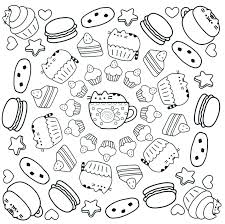 Cool Pusheen Coloring Pages Coloring Pages Free Coloring Book