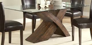 table base for glass top modern archive with tag dining bases 0 rectangle glass dining table