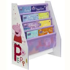 Peppa Pig Bedroom Stuff Character Sling Bookcase Bedroom Storage Peppa Thomas Gruffalo