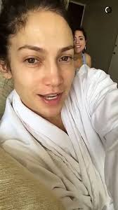 jennifer lopez is almost unrecognisable as she shows off her natural beauty with no make up