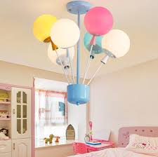 Juli Kronleuchter Kreative Bunte Led Heißluftballon Lampe