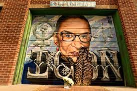 Rbg was legendary for her work ethic, getting by on only a few hours of sleep and prolifically writing important opinions, often dissenting powerfully. Ruth Bader Ginsburg Mural Painted In Downtown Denver