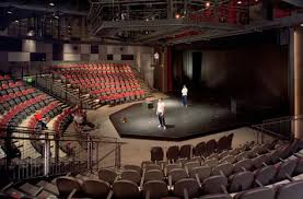 In Theatre A Thrust Stage Also Known As A Platform Stage