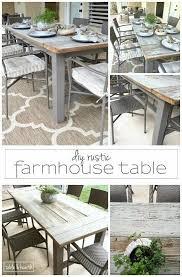 diy outdoor farmhouse table. Diy Dining Table Beautiful Outdoor Farmhouse Of