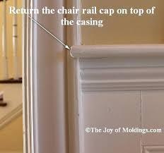 installing chair rail chair rail return installing chair rail moulding height