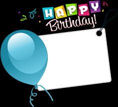 happy birthday transpa sticker with